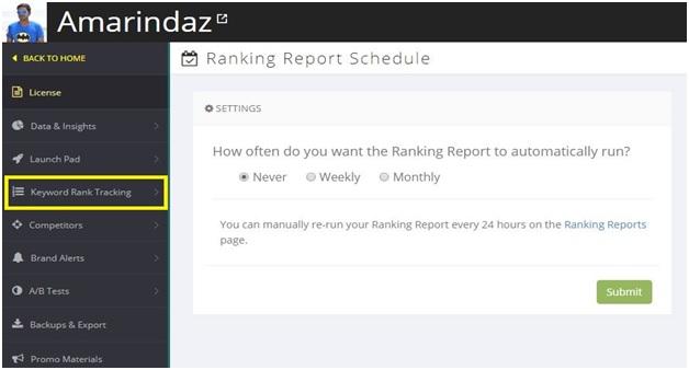 check youtube keyword rank position