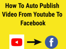 how to upload youtube video on facebook