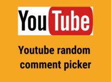 Youtube random comment picker img
