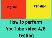 Youtube AB testing feature image